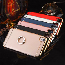 3 In 1 Bumper Hard Back Cover Case with 360° Rotate Stand Ring For OPPO A37 A37F
