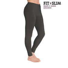 Mallas Leggins Shape & Warm, diseño exclusivo, 92% Naylon, 8% Elastano, talla M