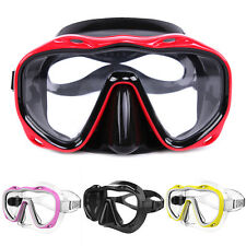 1PCS SEAL SNORKEL SCUBA TEMPERED GLASS LENS DIVE MASK DIVING EQUIPMENT FITTED