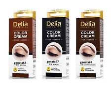 Delia Eyebrow Tint Cream With Argan oil - ALL 3 COLORS  ❤️ FREE & FAST DLVRY ❤️