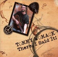 TOMMY WOMACK - THERE, I SAID IT! NEW CD