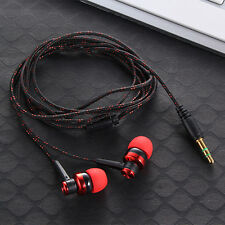 Stereo In Ear Auriculares Headphone Headset Earphone Earbuds For iPhone Samsung