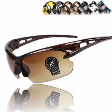 Fashion Unisex UV400 Cycling Riding Driving Glasses Sports Sunglasses Goggles