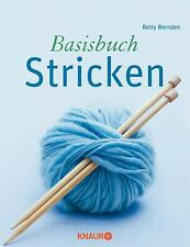 NEU Basisbuch Stricken Betty Barnden 647363