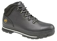 Mens TIMBERLAND 'SPLITROCK PRO' Hiker Type Safety Boots Black Premium Oiled Leat