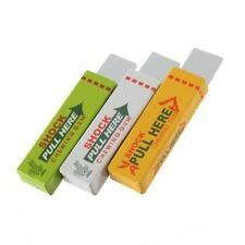 Safety Electric Shock Trick Joke Funny Prank Chewing Gum Pull Head in 3 Colours