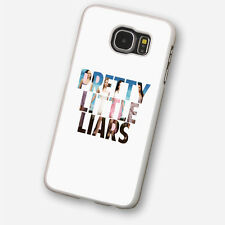 PRETTY LITTLE LIARS 1 White Hard Phone Case Cover Fits Samsung (SWH)