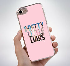 PINK PRETTY LITTLE LIARS Rubber Phone Case Cover Fits Iphone (TR)