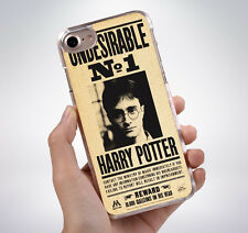 HARRY POTTER WANTED POSTER Hard Phone Case Cover Fits Iphone (TH)