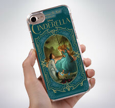 CINDERELLA FAIRY TALE BOOK COVER Rubber Phone Case Cover Fits Iphone (TR
