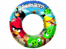 Angry Bird Inflatable Swimming Pool Tyre Tube Swim Ring Kid Childrens Summer Fun