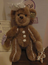 NEW Annette Funicello Plush Bear Gingerbear Signed, Numbered With Certificate