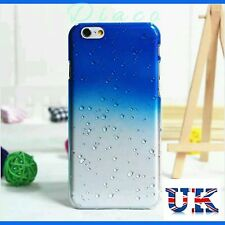 Hard Back Case 3D Rain Drop Cover Skin for Apple iPhone 5/5s 6/6s 6/6s Plus