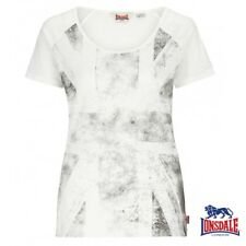 Lonsdale MUJER CAMISETA ST. HELENS Top Camiseta Top Mujer Chica Xs S M L Xl Xxl