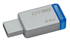 Kingston 16GB 32GB 64GB 128GB DataTraveler DT50 USB Flash Pen Drive Memory Stick