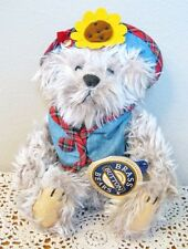 BRASS BUTTON BEAR COLLECTION 1959 BLOSSOM VEST & HAT 11