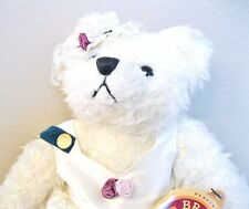 BRASS BUTTON BEAR COLLECTION 1997 BIANCA BEAR OF LOVE 11