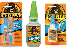 Genuine Gorilla Glue Products: Multi-Purpose Super Glue and Gel, Strong Adhesive