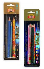 Koh-I-Noor Jumbo Special Coloured Magic Pencils - blister pack of 3 or 5
