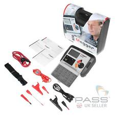 *NEW* Megger MIT320 Insulation and Continuity Tester + Probe and Clips / UK