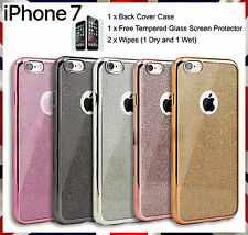 Fashion Bling Glitter TPU Shockproof Case Cover for iPhone 7 Plus