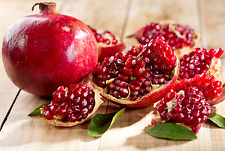Punica Granatum 25/100/500/1000 Seeds Pomegranate Edible Fruit Shrub Tree Bonsai