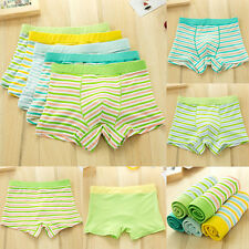 Underwear Stripe Soft New Children Underpants Boxer Kids Briefs Shorts Boys