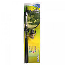 Jarvis Walker Tracker Tele Spinning Fishing Rod Combos with Lures - 7ft & 8ft