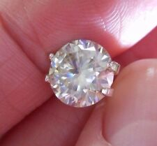 BRILLIANT!  2.75 ct  VVS1  9.30 mm  ICY FIERY WHITE H-i LOOSE ROUND MOISSANITE