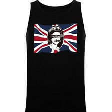 CAMISETA SIN MANGAS SEX PISTOLS GOOD SAVE THE QUEEN PUNK TANK TOP RFE MC634T