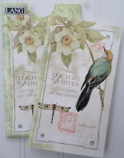 Lang Address Book w/Sleeve Pocket Retired ~ Song Of The Earth ~ Susan Winget