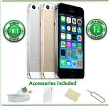Apple iPhone 5s - 16/32/64gb - ORO / SILVER / gris (Libre) - A/B/C Condición