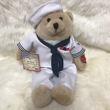 Chantilly Lane Musical American Heroes Navy Sailor Plays Anchor Away 11 Inch