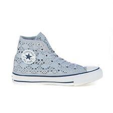 SCARPE CONVERSE ALL STAR HI CHUCK TAYLOR CROCHET METALLIC PIZZO DONNA 556773C
