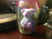*NEW* LI'L LUVABLES FLUFFY FACTORY White / Pink CLASSIC BEAR 4+