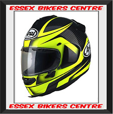 Arai Chaser X Tough Yellow Motorcycle Helmet New Model Next Day Del