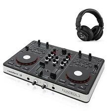 USB MIDI DJ CONTROLLER AUDIO INTERFACE MIXER KONSOLE MISCHPULT WORKSTATION