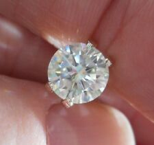 TWINKLING!  1.71 ct  VVS1  7.95 mm  ICY FIERY WHITE H-i LOOSE ROUND MOISSANITE