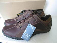 Clarks Mens Active Air Outleap GTX Brown Leather Shoes UK Size 8 G