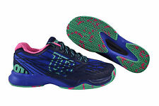 Wilson Kaos Clay Court Women blue iris/navy/f.pink Tennisschuhe blau