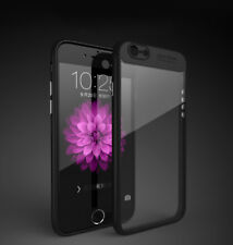 Transparent Luxury Soft TPU+Hard PC Back Cover Case For *Apple iPhone 7* (4.7)