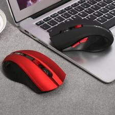 2400DPI Optical Wireless Gaming Game Mouse Gamer Computer Mice 6 Buttons