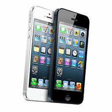 Apple iPhone 5 16/32GB iOS Factory Unlocked 4G LTE Black and White Smartphone