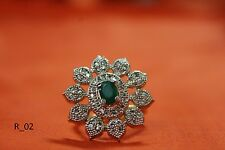 """""""American Diamond Ring Adjustable by Shubh Jewels      """""""