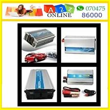 Solar/Car Inverter DC12V→AC220V-100/1000W/1200W-With Free Gift Worth Rs.1950 #