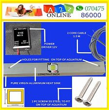 LED Aquarium Lite10/20/30/40/50W(10W*2*3*4*5*)C.White-With/Without Dimmer