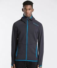 Mens Peak Performance Heli Blue Shadow Hooded Jacket RRP £159.99 (PRAP1)