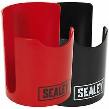 Sealey Red or Black Soft Magnetic Cup Can Mug Holder Tool Box Cabinet Trolley