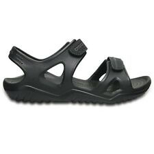 Crocs SANDALO SWIFTWATER RIVER NERO Nero mod. BLACK