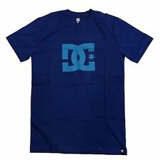 DC SHOES STAR LOGO T SHIRT BLUE TURQUOISE